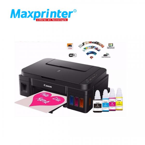 Impresora canon con fax y fotocopiadora