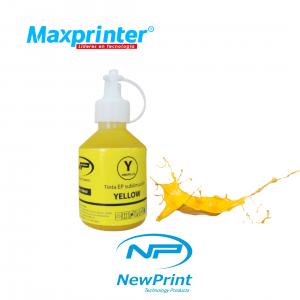 Tinta para estampar bazos amarilla