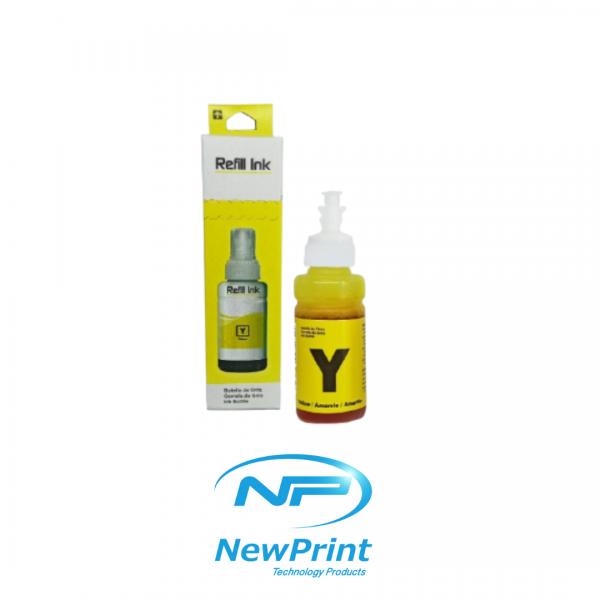 Tinta liquida amarilla para impresoras