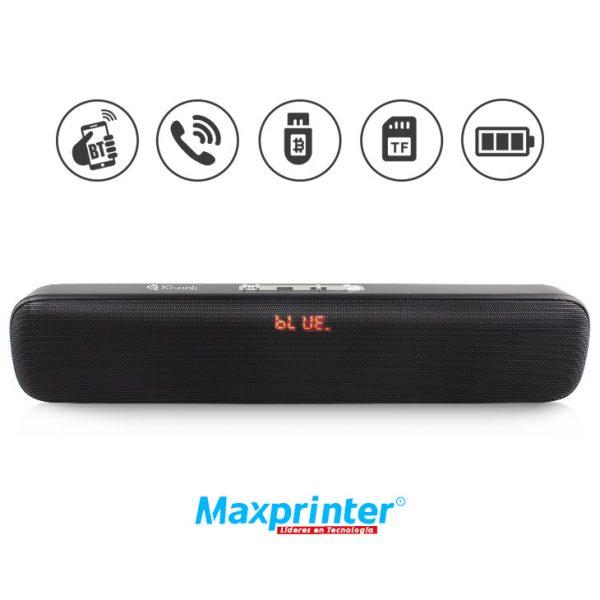 Parlante Bluetooth Kisonli Ref. S4 venta en bucaramanga ibague medellin