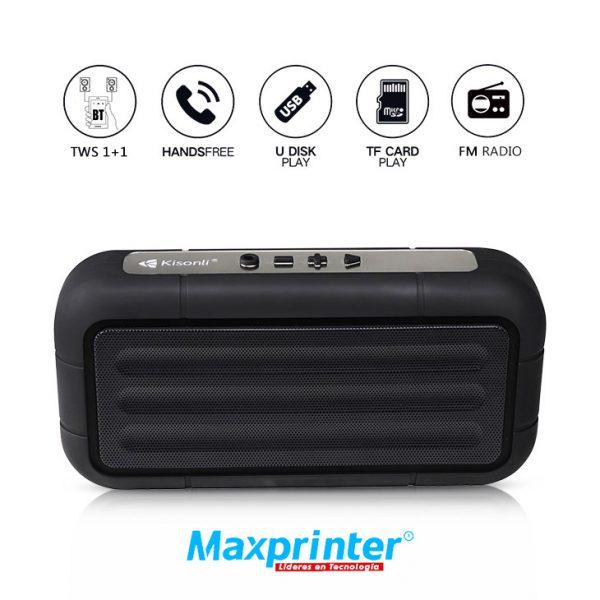 Parlante Bluetooth Kisonli Ref. S3 ventas bucaramanga de tecnologia